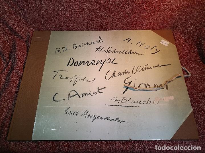 DIX LITHOGRAPHIES D´ARTISTES SUISSES DE PERROCHON HENRI 1955 SCHOELLHORN-DOMENJOZ-CLEMENT-BOSS REF-D (Arte - Litografías)