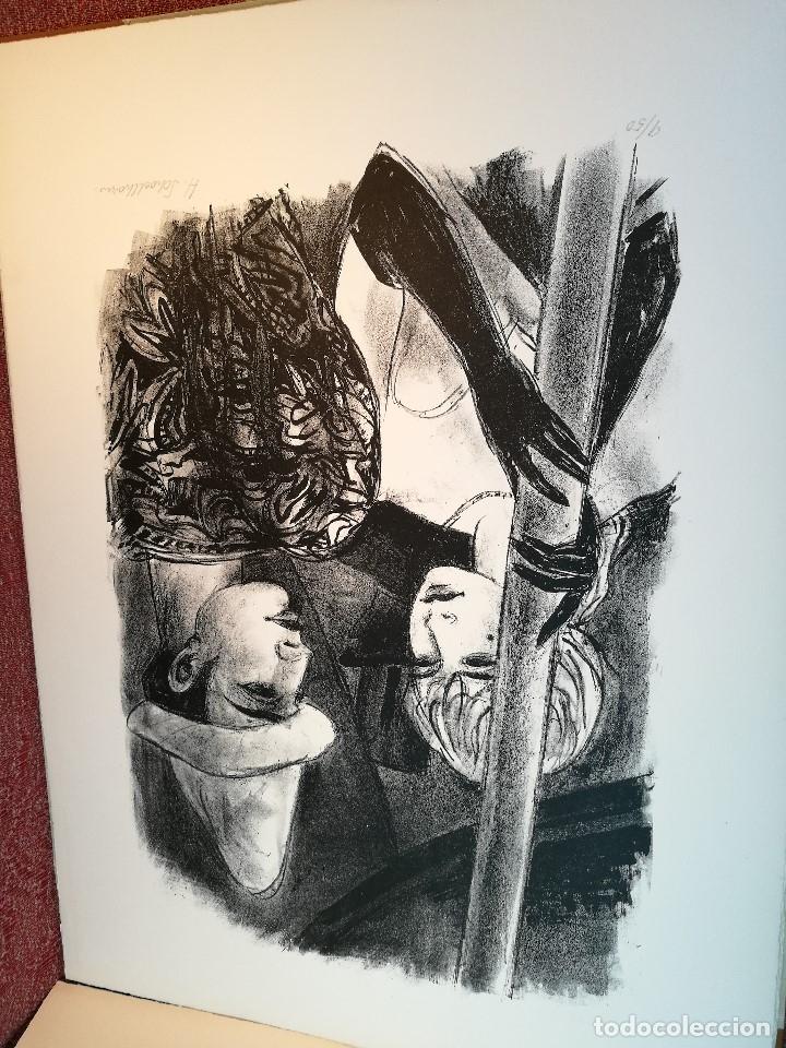 Arte: dix lithographies d´artistes suisses de perrochon henri 1955 SCHOELLHORN-DOMENJOZ-CLEMENT-BOSS REF-D - Foto 9 - 141173182