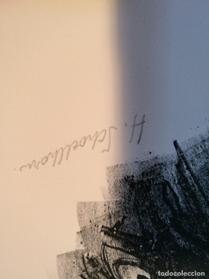 Arte: dix lithographies d´artistes suisses de perrochon henri 1955 SCHOELLHORN-DOMENJOZ-CLEMENT-BOSS REF-D - Foto 11 - 141173182