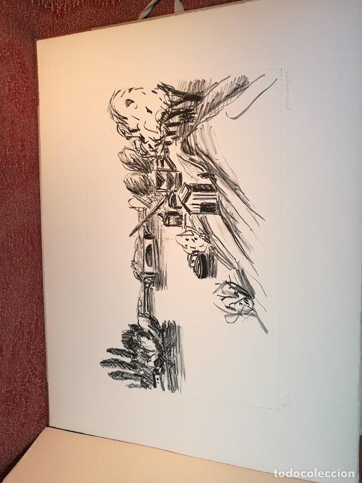 Arte: dix lithographies d´artistes suisses de perrochon henri 1955 SCHOELLHORN-DOMENJOZ-CLEMENT-BOSS REF-D - Foto 12 - 141173182