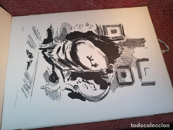 Arte: dix lithographies d´artistes suisses de perrochon henri 1955 SCHOELLHORN-DOMENJOZ-CLEMENT-BOSS REF-D - Foto 15 - 141173182