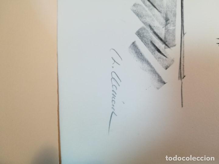 Arte: dix lithographies d´artistes suisses de perrochon henri 1955 SCHOELLHORN-DOMENJOZ-CLEMENT-BOSS REF-D - Foto 17 - 141173182