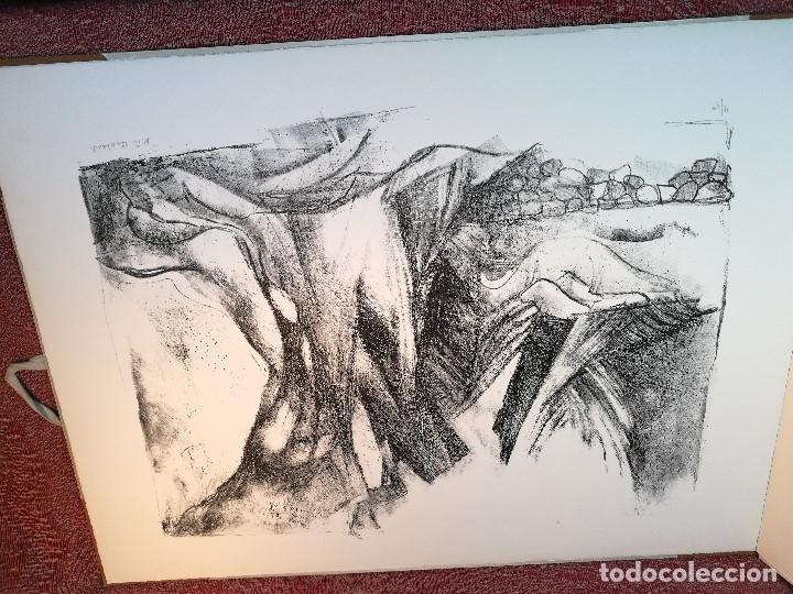 Arte: dix lithographies d´artistes suisses de perrochon henri 1955 SCHOELLHORN-DOMENJOZ-CLEMENT-BOSS REF-D - Foto 18 - 141173182