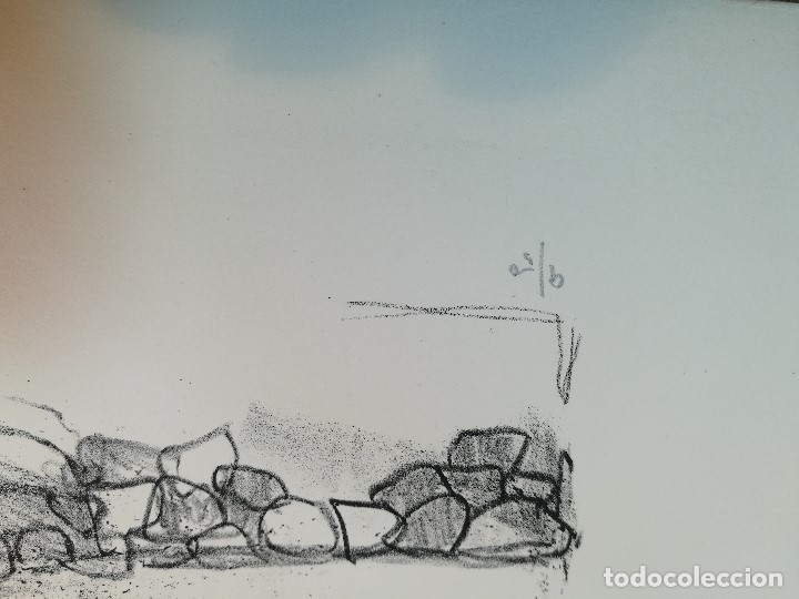 Arte: dix lithographies d´artistes suisses de perrochon henri 1955 SCHOELLHORN-DOMENJOZ-CLEMENT-BOSS REF-D - Foto 19 - 141173182