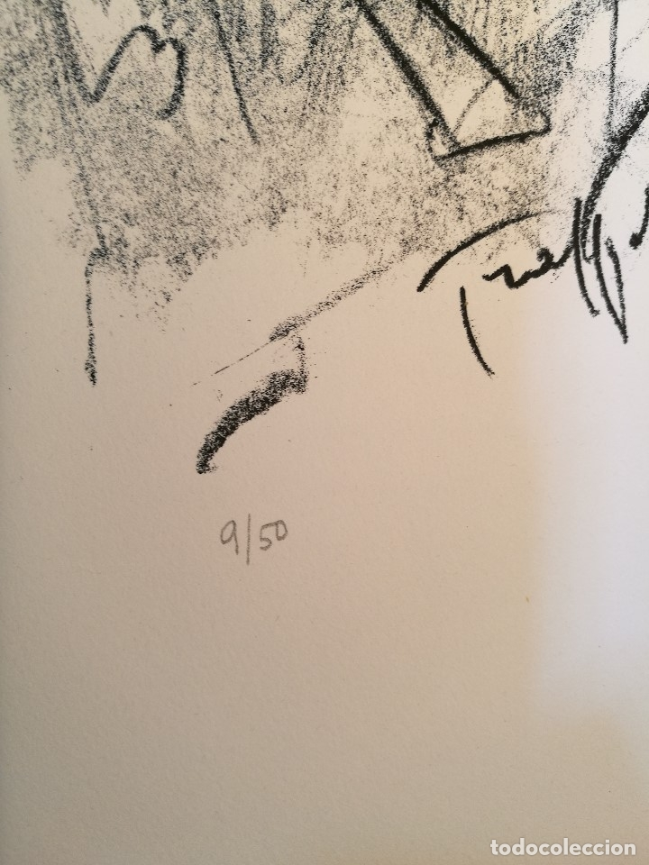 Arte: dix lithographies d´artistes suisses de perrochon henri 1955 SCHOELLHORN-DOMENJOZ-CLEMENT-BOSS REF-D - Foto 22 - 141173182