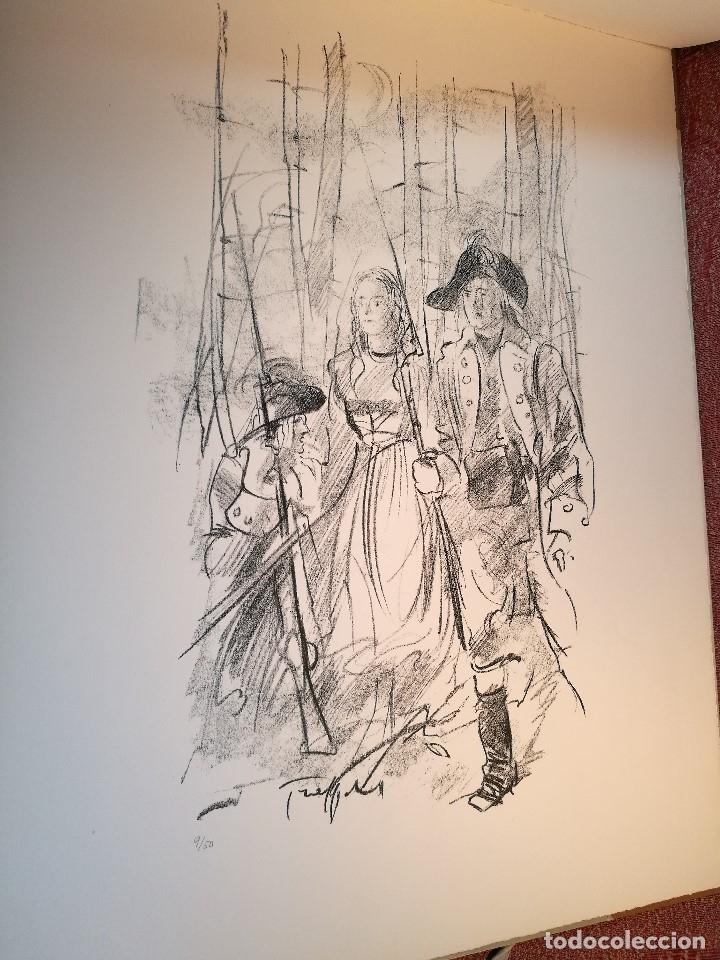 Arte: dix lithographies d´artistes suisses de perrochon henri 1955 SCHOELLHORN-DOMENJOZ-CLEMENT-BOSS REF-D - Foto 24 - 141173182