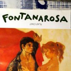 Arte: CARTEL LITOGRAFIA DE EXPOSICION DE - LUCIEN FONTANAROSA - L`AMOUR - EN BERNHEIM JEUNE PARIS 2001 TA. Lote 142363654