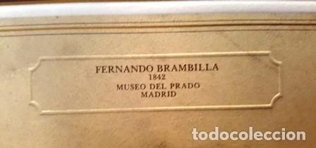 Arte: LITOGRAFIA FERNANDO BRAMBILLA - 1842 - MUSEO DEL PRADO MADRID-PATRIMONIO NACIONAL -ESPAÑA- - Foto 3 - 142369190