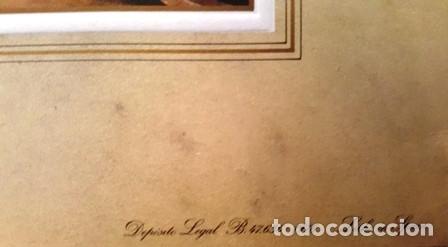 Arte: LITOGRAFIA FERNANDO BRAMBILLA - 1842 - MUSEO DEL PRADO MADRID-PATRIMONIO NACIONAL -ESPAÑA- - Foto 4 - 142369190