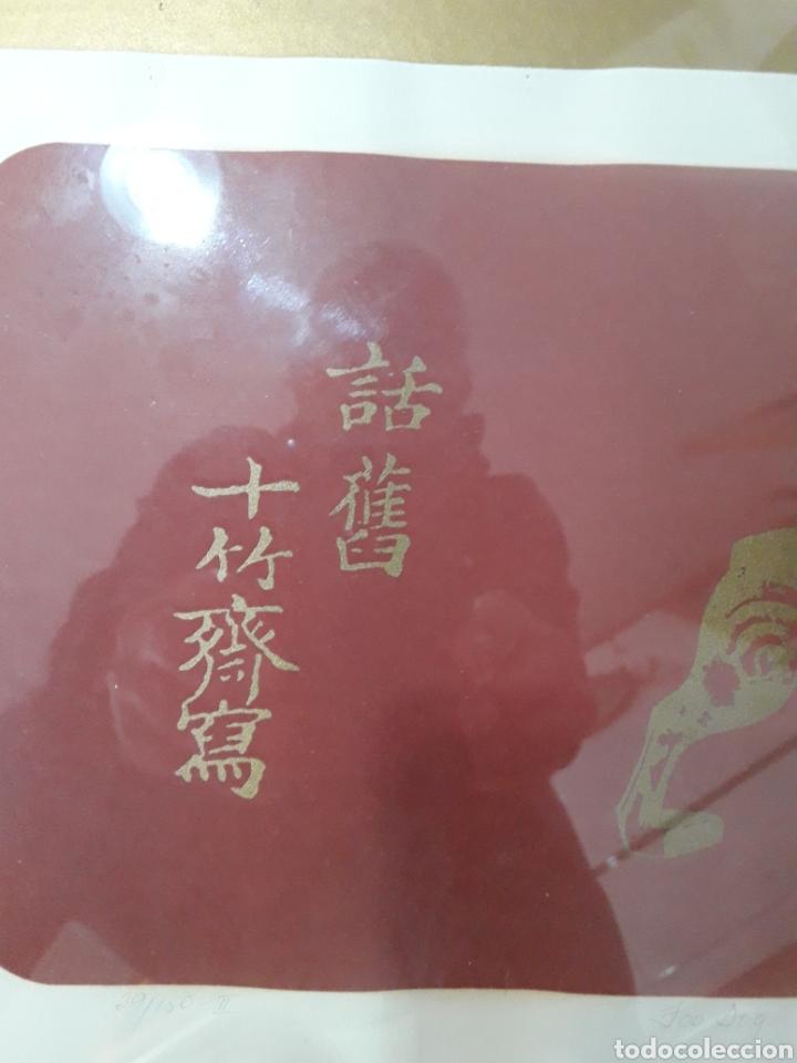 Arte: Litografía. Firmada ilegible. Numerada 29/150-II. - Foto 2 - 142754893