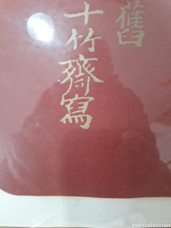 Arte: Litografía. Firmada ilegible. Numerada 29/150-II. - Foto 4 - 142754893
