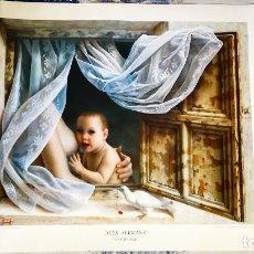 Arte: LITOGRAFIA DE - ALEX ALEMANY - MATERNIDAD - AÑO 1991 - EDICION LIMITADA 50-100 DIRMANA POR AUTOR 66X. Lote 142821518