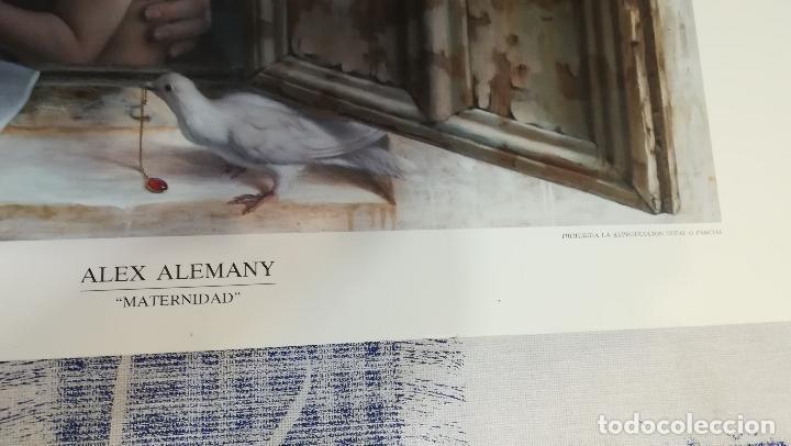 Arte: LITOGRAFIA DE - ALEX ALEMANY - MATERNIDAD - AÑO 1991 - EDICION LIMITADA 50-100 DIRMANA POR AUTOR 66X - Foto 2 - 142821518