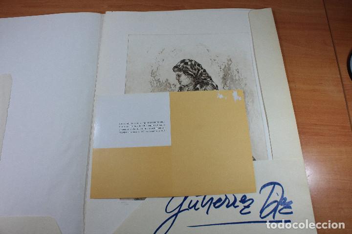Arte: AGUAFUERTE DE CARMEN GUTIERREZ DIEZ NUMERADO (359/400) Y FIRMADO 52 X 40 CM, EDITADO POR SKANDA 1982 - Foto 4 - 143143802