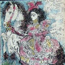 Arte: PABLO PICASSO - TOROS Y TOREROS . LITOGRAFIA OFFSET 1961. Lote 143157822