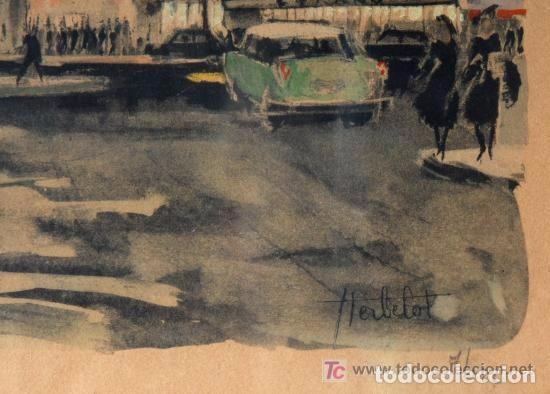 Arte: LITOGRAFIA MOULIN ROUGE PARIS. HERBELOT - Foto 2 - 143171634