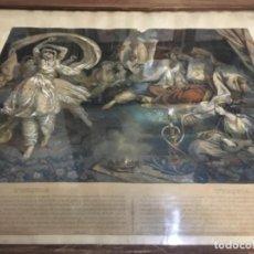 Arte: (M) TURQUÍA - ANTIGUA LITOGRAFÍA ILUMINADA A MANO S. XIX CON SU MARCO DE ÉPOCA 62X52 CM EL MARCO , L. Lote 143261754