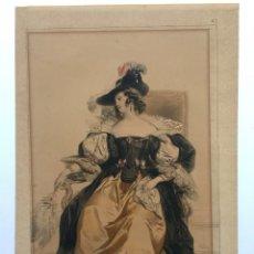 Arte: ACHILLE DEVERIA 1800 - 1857. Lote 3411620