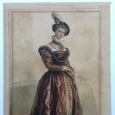 Arte: ACHILLE DEVERIA 1800 - 1857. Lote 21362806