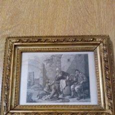 Arte: LITOGRAFÍA C.G.LEWIS ENMARCADA. Lote 143637162