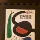 Arte: DERRIÈRE LE MIROIR. MIRO. Nº 164-165. MAEGHT, PARIS ABRIL-MAYO-1967. LITOGRAFÍAS. ARTE MODERNO.. Lote 144488946