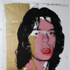 Arte: ANDY WARHOL: MICK JAEGGER, LITOGRAFÍA MUMOK, 2010. Lote 144490710