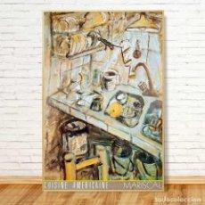 Arte: JAVIER MARISCAL - CUISINE AMERICAINE. 98X65. 1985. Lote 165187858