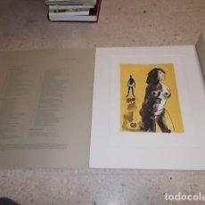 Arte: IMPRESIONANTE LITOGRAFÍA ORIGINAL DE MARIA CARBONERO .OBRA DE 100 EJEMPLARES. SA NOSTRA. 32,5 X 23,5. Lote 144538926