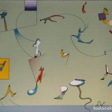 Arte: JAN VOSS, LITOGRAFÍA FIRMADA Y NUMERADA, 1972. Lote 144606290