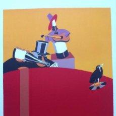 Arte: EDUARDO ARROYO - LITOGRAFÍA - FIRMADA Y JUSTIFICADA, AÑO 1989 , QUELQUES ASPECTS DE LA VIE. Lote 145067334