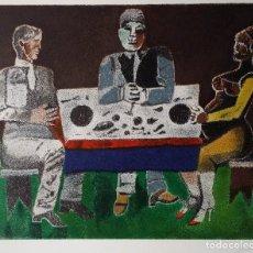 Arte: FRANCO GENTILINI, BANCHETTO, LITOGRAFÍA FIRMADA. Lote 145371678