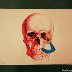 Arte: GRABADO DE MISSING PIECE -ALICIA CALAVERA- 32 X 45 CM. Lote 145538130