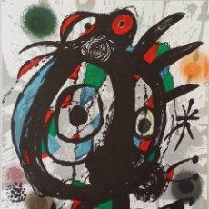 Arte: JOAN MIRÓ: LITOGRAFÍA ORIGINAL Nº I / MOURLOT 1113/ DE 1977. Lote 146422122