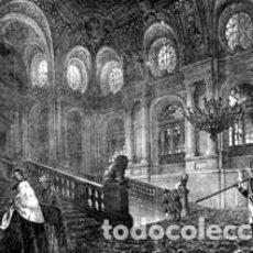 Arte: ESCALERA PRINCIPAL DEL REAL PALACIO (MADRID). Lote 146578834