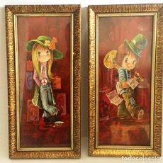 Arte: 2 LITOGRAFIAS AÑOS 70 DE I VERNET. Lote 188725470