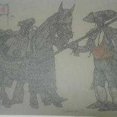 Arte: LA TAUROMAQUIA 77 JESÚS FUERTES. Lote 147482138