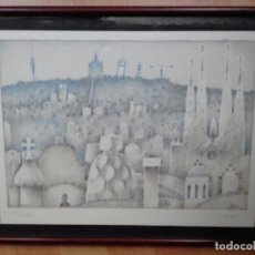 Arte: LITOGRAFÍA DE FRANCESC TODÓ I GARCÍA (TORTOSA 1922-BCN 2016). Lote 147578450