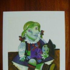 Arte: GRAN LITOGRAFÍA PICASSO MAYA CON SU MUÑECA COLECCIÓN DOMAINE EDICIÓN LIMITADA A 500 UNID+CERTIFICADO. Lote 147714946