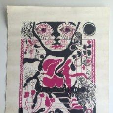 Arte: BRINKMANN , PEINADO , ALBERCA , BARBADILLO , LITOGRAFIA ORIGINAL , MALAGA. Lote 148313410