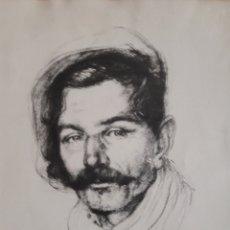 Arte: LITOGRAFÍA FIRMADA ILEGIBLE Y FECHADA EN 1947.. Lote 148640368