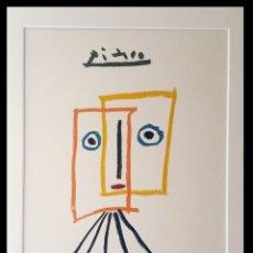 Arte: GRAN LITOGRAFIA DE PICASSO LA MUSA TERPSICHORE ENMARCADA Y DE EDICION LIMITADA. Lote 148757152