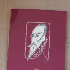 Arte: CARPETA COLECCION 4 LITOGRAFIAS JOSEP M. SUBIRACHS - IV CENTENARIO DEL QUIJOTE. Lote 148844390
