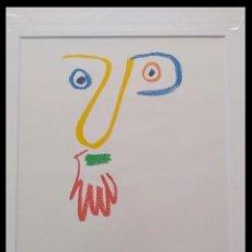Arte: BONITA LITOGRAFIA DE PICASSO DON BOB ENMARCADA Y DE EDICION LIMITADA. Lote 149085910