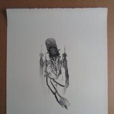 Arte: JOAN PONC (BARCELONA 1927-FRANCIA 1984) LITOGRÁFIA 1967 16X36 PAPEL 50X66CMS FIRMA LÁPIZ Y 35/70. Lote 149727065