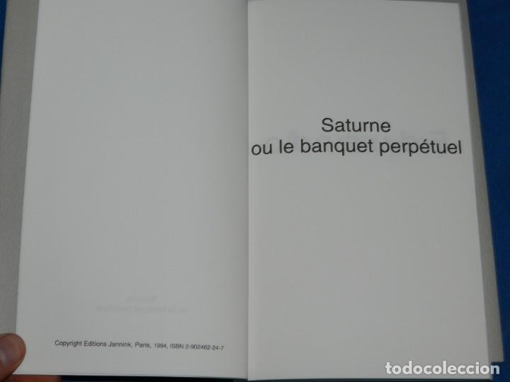Arte: EDUARDO ARROYO - SATURNE OU LE BANQUET PERPETUEL , EJEMPLAR 171 , MUY DIFICIL !!!!! - Foto 4 - 149866606