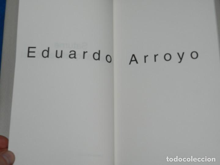 Arte: EDUARDO ARROYO - SATURNE OU LE BANQUET PERPETUEL , EJEMPLAR 171 , MUY DIFICIL !!!!! - Foto 5 - 149866606