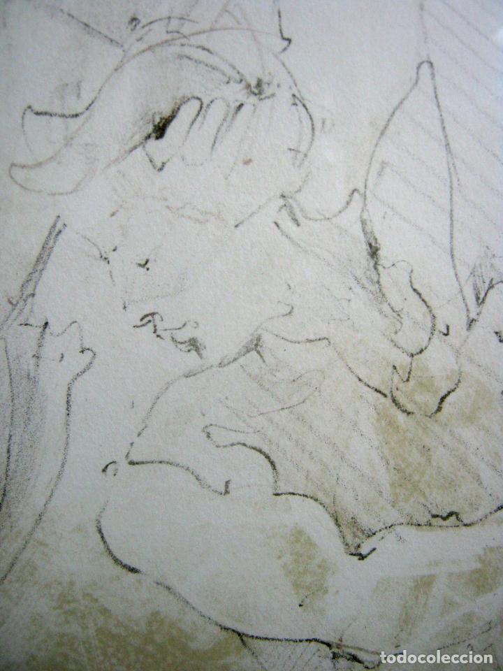 Arte: 97 cm - JÜRGEN GÖRG . Prana ( Alemania) - LITOGRAFIA NUMERADA . DESNUDOS FEMENINO MASCULINO - Foto 7 - 150538082
