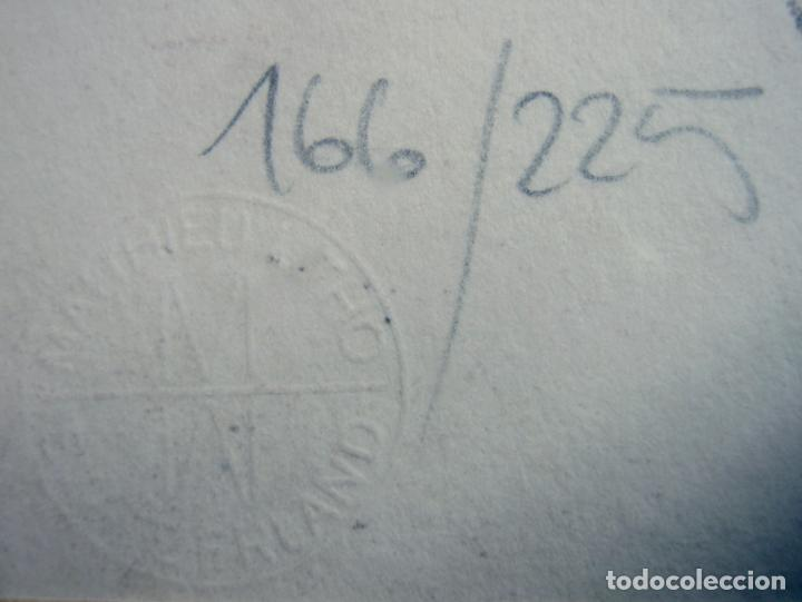 Arte: 97 cm - JÜRGEN GÖRG . Prana ( Alemania) - LITOGRAFIA NUMERADA . DESNUDOS FEMENINO MASCULINO - Foto 9 - 150538082