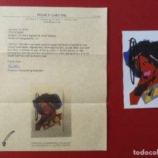 Arte: ANDY WARHOL FIRMADO A MANO CON CERTIFICADO DE AUTENTICIDAD (INTERÉS CHILLIDA, MIRÓ, DALI, PICASSO,... Lote 150543409