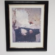 Arte: S9- ANTONI CLAVE COLLAGE SUR ALU 1971 LASSALE EDICON LIMITADA SALA GASPAR 88/1500. Lote 150702930